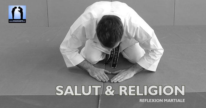 salut et religion dans le karate et les arts martiaux