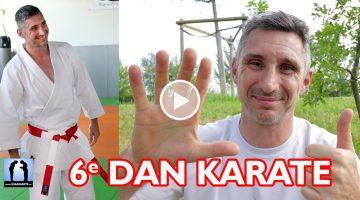 Je suis 6ème Dan de Karaté [vidéo] Lionel Froidure