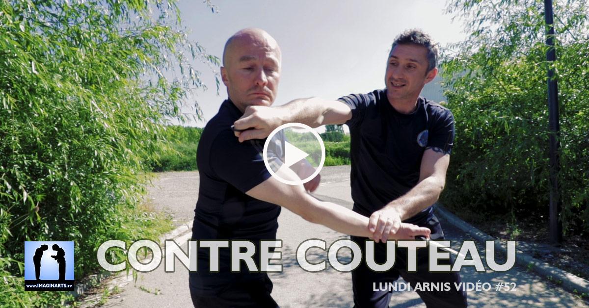 Contre au couteau - Arnis Kali [vidéo]
