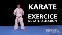 karaté - exercice de lateralisation