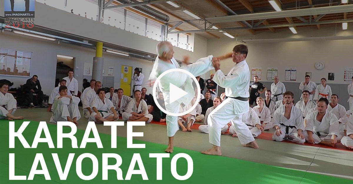 Jean-Pierre Lavorato – Karate esquives et contres [vidéo]