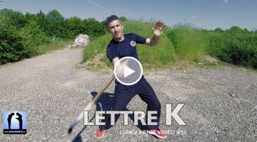 explications lettre K arnis kali