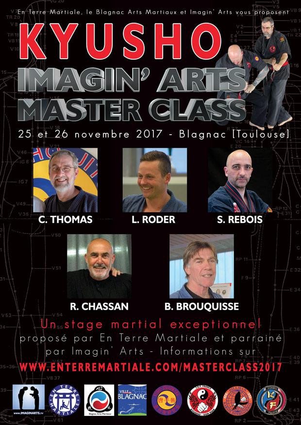 Imagin' Arts Masterclass 2017 spécial KYUSHO