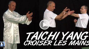 Croiser les mains & Appuyer – Taichi Yang des 108 mouvements [vidéo]