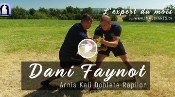 Mains nues contre couteau – Dani Faynot – Arnis Kali [vidéo]