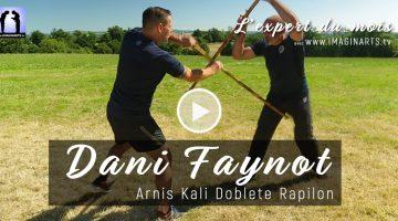 Double baton contre baton long – Dani Faynot – Arnis Kali [vidéo]