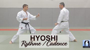 Hyoshi cadence rythme dans le karaté