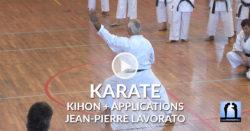 kihon karate avec jean-pierre lavorato