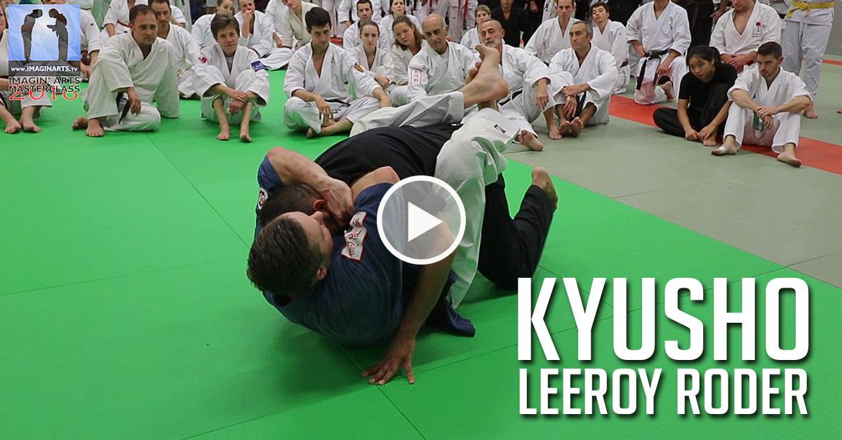 Techniques de Kyusho au Sol avec Leeroy Roder [vidéo]