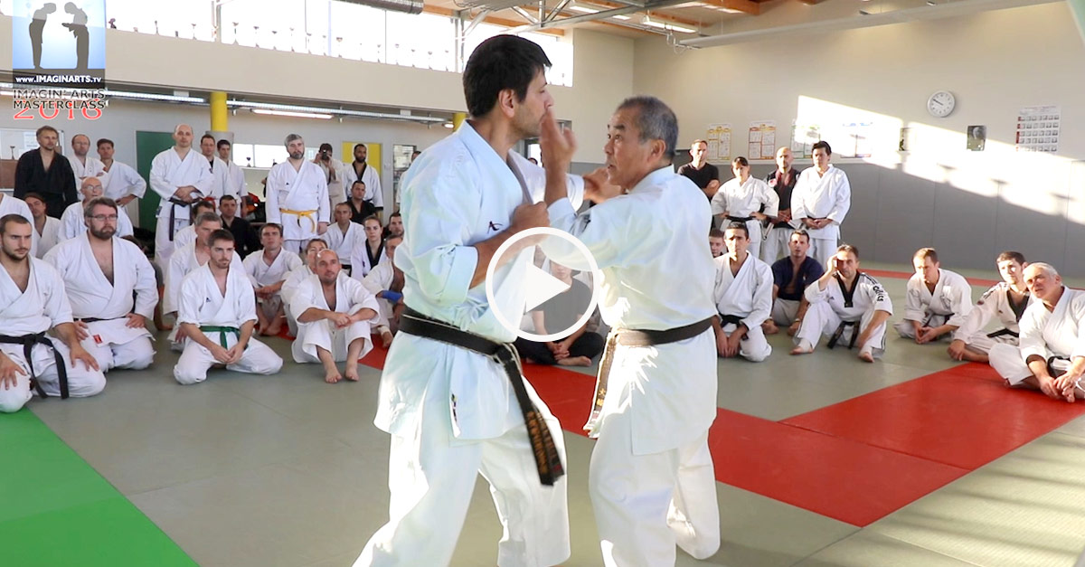 Karaté Goju-Ryu avec Zenei Oshiro [vidéo]