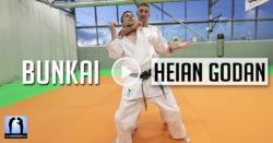 bunkai heian godan karate avec Lionel Froidure