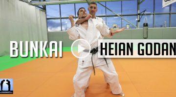 Bunkai Heain Godan – Karaté [vidéo]