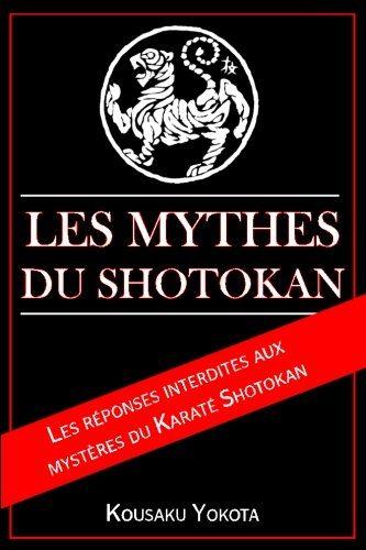 mythes karate shotokan livre