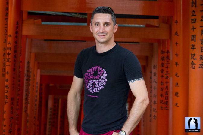 Lionel Froidure au Japon Kyoto