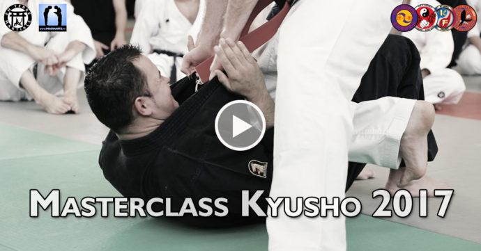 masterclass kyusho 2017 la vidéo