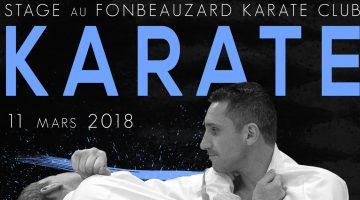 Lionel Froidure à Fonbeauzard (31) – Karaté