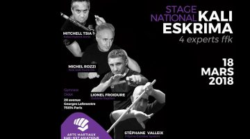 Stage National FFK Arnis Kali Eskrima