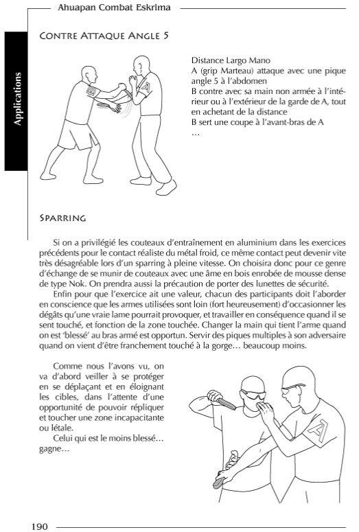Livre Ahuapan Combat Eskrima