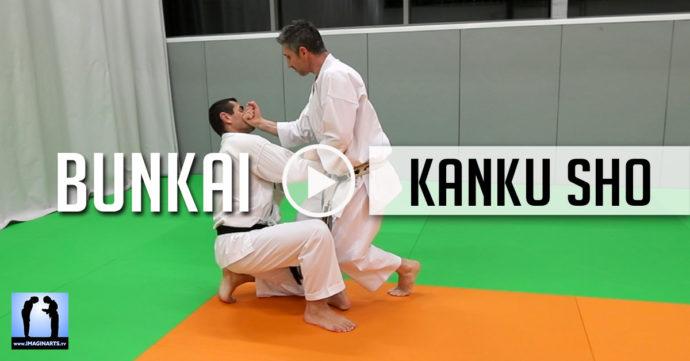 karate bunkai kanku sho