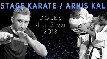 Lionel Froidure à Mouthe (25) – Karaté + Arnis Kali