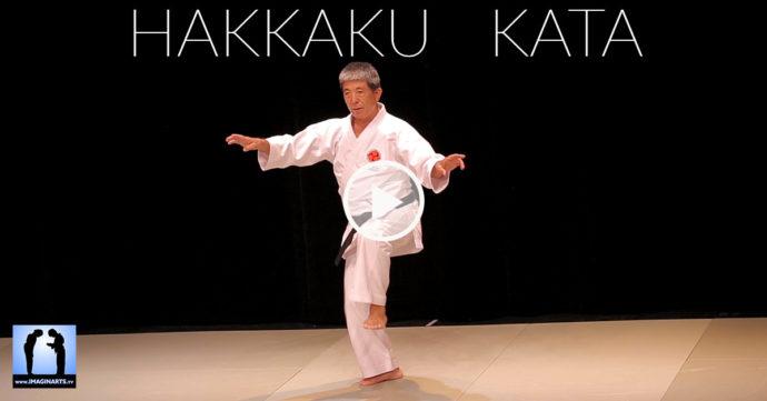 Hakkaku Kata karate shorin-ryu