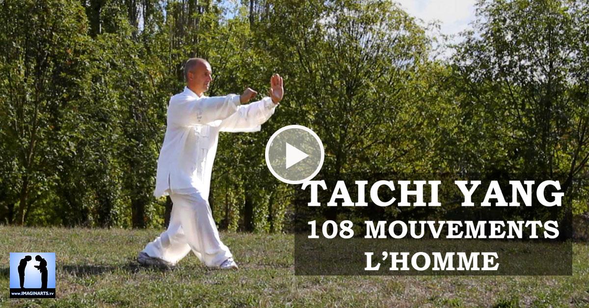 Taichi Yang – la forme des 108 mouvements – l'homme [vidéo]