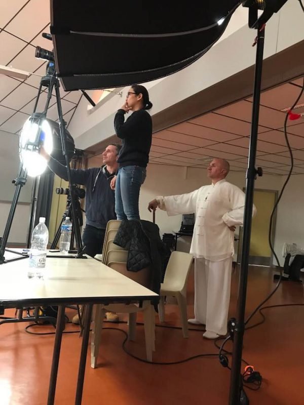 tournage DVD arts martiaux Imagin' Arts Tv