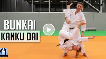 bunkai kakanu dai - karate avec Lionel Froidure
