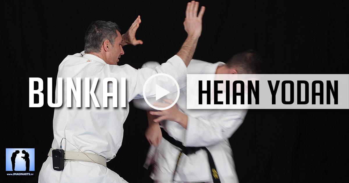 Bunkai Heian Yodan - Karate