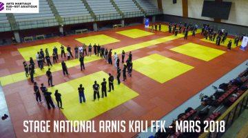 Compte-rendu Stage National Arnis Kali Eskrima 2018