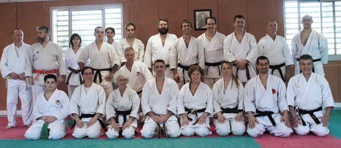 stage karate Fonbeauzard 2018 avec Lionel Froidure