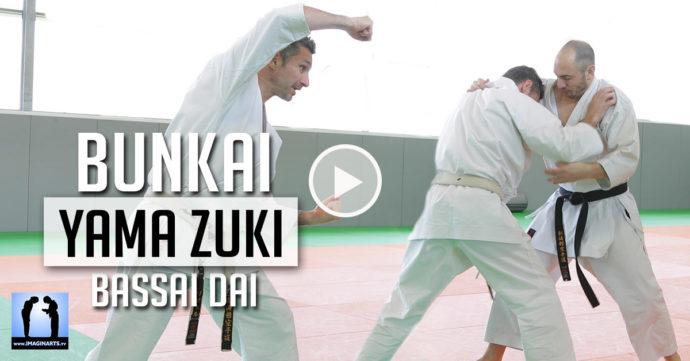 karate bunkai yama zuki bassai dai avec Lionel Froidure