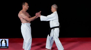 En mode tournage Karate