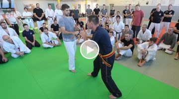 Garde couteau avec master Dani Faynot [vidéo]