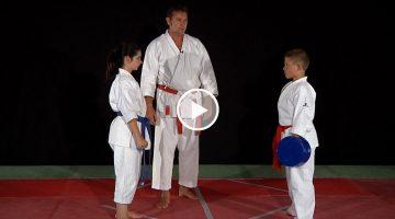 Kihon sur cible – KARATE [vidéo]