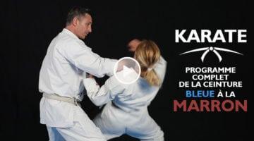 KARATE – ceinture bleue à marron [vidéo]