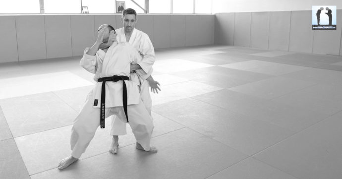 étranglement karate lionel froidure