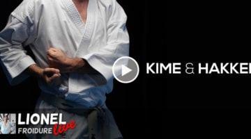 discussion vidéo autour du kime et du hakkei dans le karate