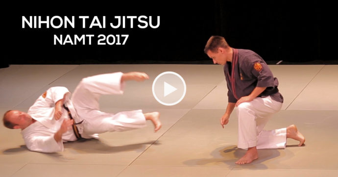 Nihon Tai Jitsu Xavier Duval demo NAMT 2017