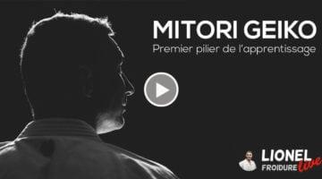 Mitori Geiko – premier pilier de l'apprentissage [vidéo live]