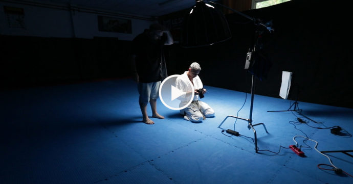 lionel froidure shooting photo karate