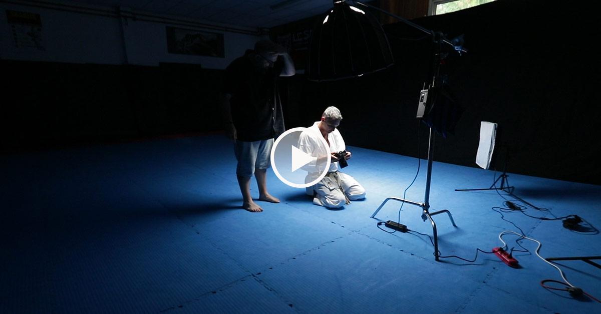 Photo shoot KARATE avec Lionel Froidure [vidéo]