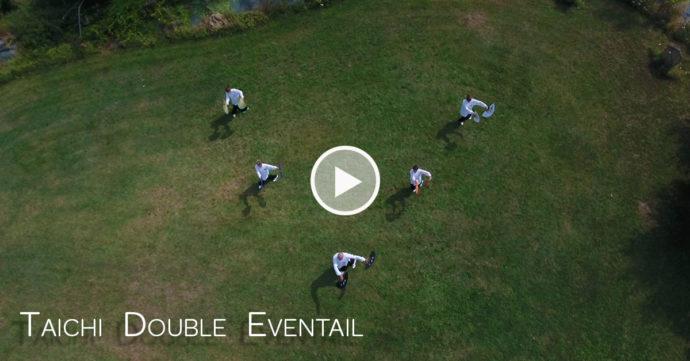 vidéo taichi double eventail