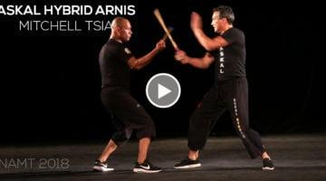 Askal Hybrid Arnis avec Mitchell TSIA – namt 2018