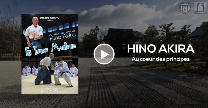 Documentaire arts martiaux japon avec Hino Akira sensei