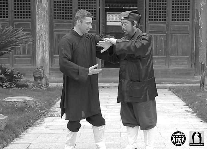 Lionel Froidure à Wudang Shan