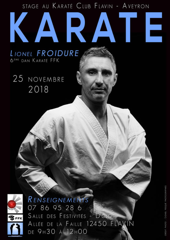 stage karate Aveyron lionel froidure novembre 2018