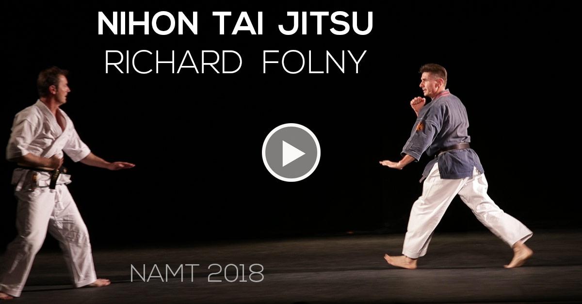 Nihon Tai Jitsu avec Richard Folny – namt 2018 [vidéo]