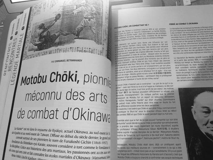 Motobu Choki - pionnier karate