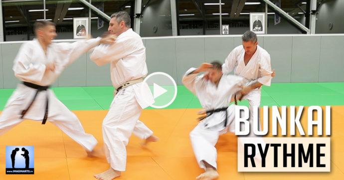 karate bunkai rythme avec lionel froidure